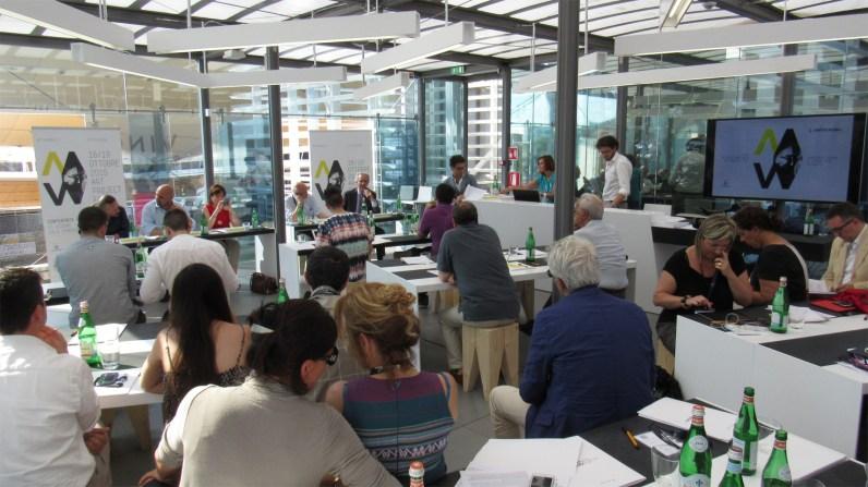 Conferenza stampa 11aEd. di ArtVerona, Milano, Expo, Padiglione Vino