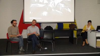 Nikolaj Laresn presenta il progetto di Qwatz all'Accademia di Belle Arti di Catanzaro