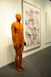 Antony Gormley, Another Time XVIII, 2013. SeanKelly Gallery, New York