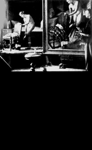 FABIO MAURI_MANIPOLAZIONE DI CULTURA_1971 -serie 2004_definiscono l'arte_reperti fotografici e acrilico su tela_cm 45x72x3