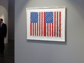 Jasper Johns flags - Craig F. Starr Gallery NY
