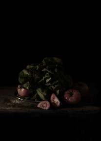 Mat Collishaw, Last Meal on Death Row, Texas (Chester Wicker), 2011, C-type photographic print , 64,8x47,5 cm.
