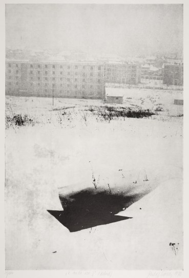 Rudolf Sikora, Out of Town, 1970, courtesy of the artist and amt_project, Bratislava
