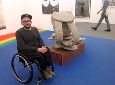 Ryan Gander and his recent work Canoosha 2014 at Lisson Gallery Freeze