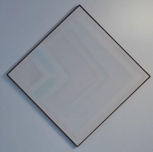 Riccardo Guarneri Ancora angoli variazione 1971 135x135cm