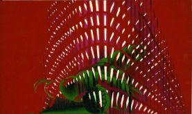Titina Maselli, La Ville II, 1971, oil on canvas, 119.5x201 cm, cod. 2301
