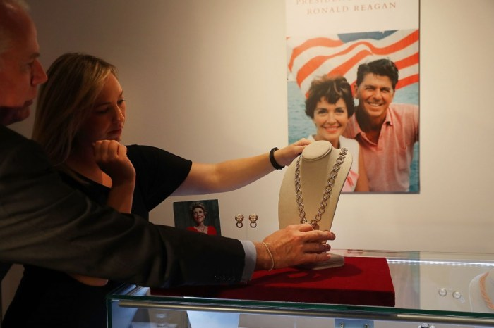 Christie's To Auction Private Collection Of Ronald And Nancy Reagan