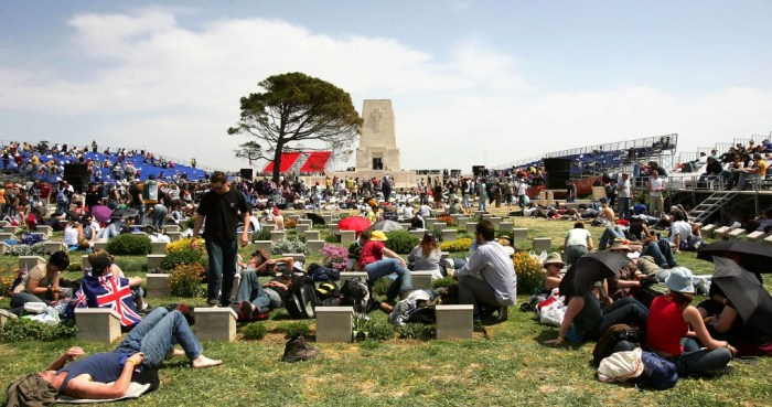 90th Anniversary Of The Battle Of Gallipoli