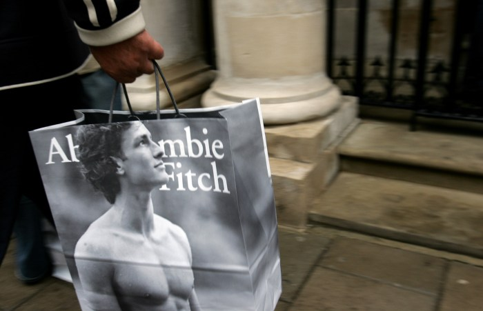 Abercrombie & Fitch - UK Flagship Store Opens