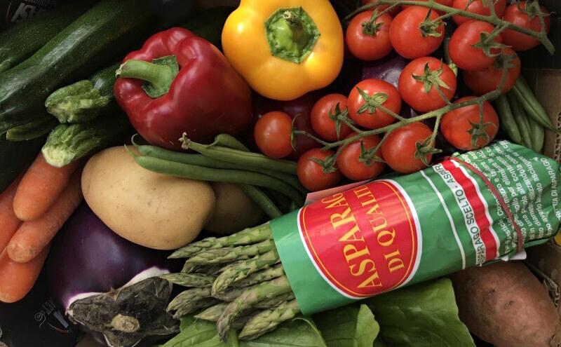 Il mondo per una cassetta di verdura