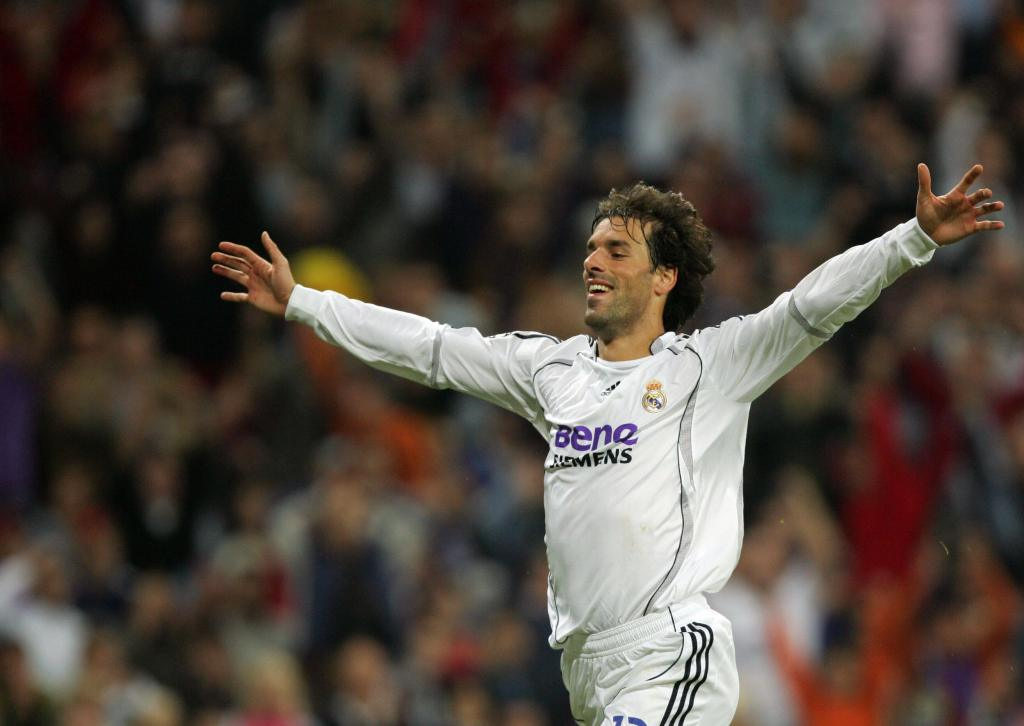 Ruud Van Nistelrooy Madrid