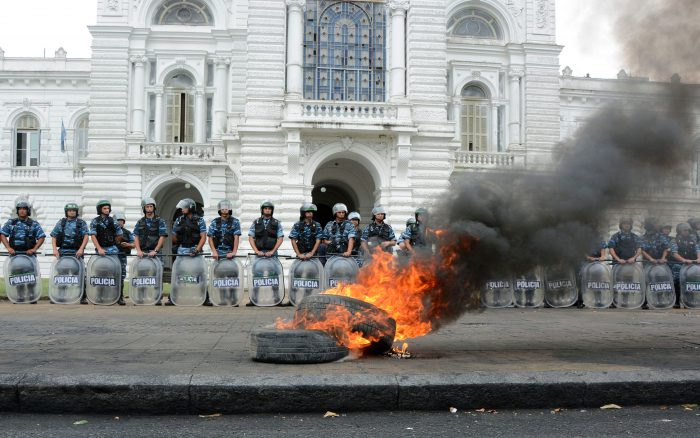 ARGENTINA-WORKERS-PROTEST