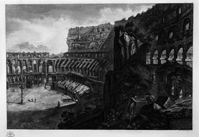 Colosseo, Giovanni Battista Piranesi