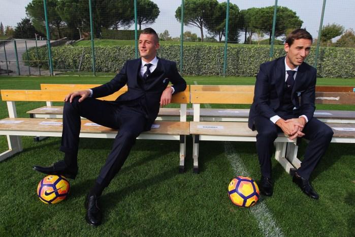 SS Lazio Training Official Photo