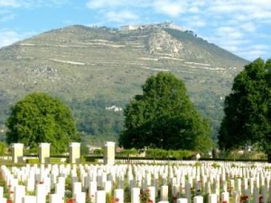 Il Cimitero militare britannico a Cassino