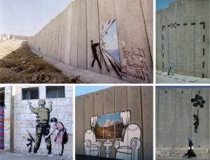 Bansky - Murales in Palestina