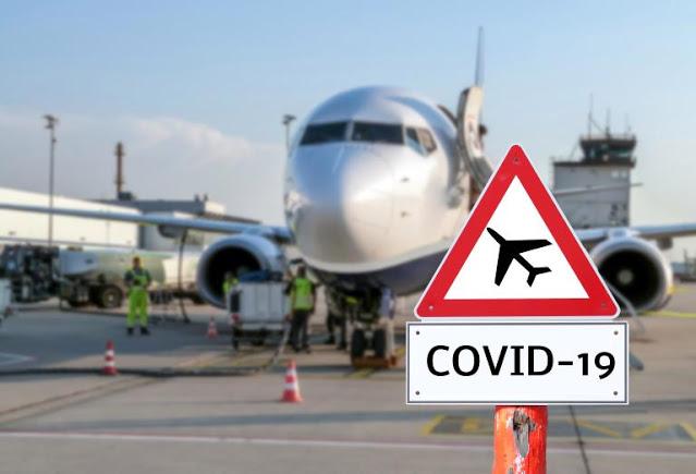 Viagem cancelada por Covid-19