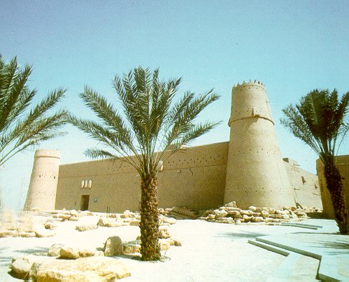 Al-Masmak historical fortress in Riyadh