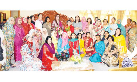 The Oriental Ladies Group aims to promote culture and ethnic diversity among members of the diplomatic community. (AN photo)