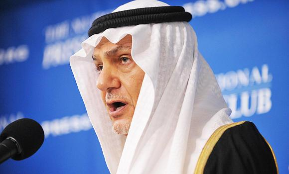 Prince Turki Al-Faisal, former intelligence chief of Saudi Arabia