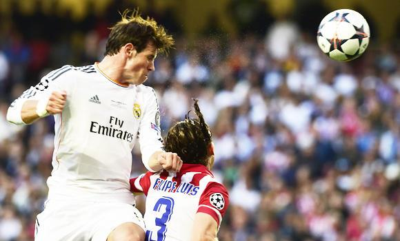 Real Madrid's Welsh forward Gareth Bale scored Rea's second goal in extra-time.