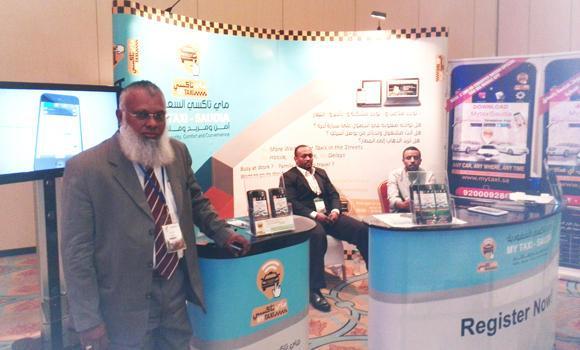 Mohammed Ansar, managing director of MyTaxi Saudia.