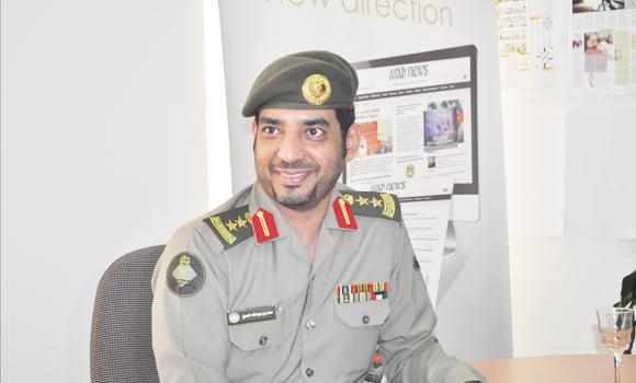 Col. Mohammed Al-Hussain, Passport Department.