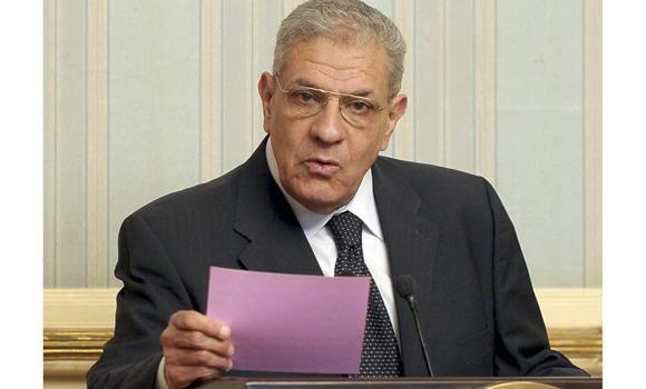 Egypt's Prime Minister Ibrahim Mehleb.