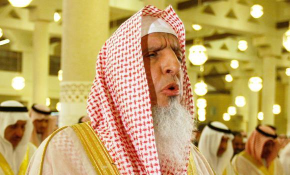 Grand Mufti Sheikh Abdul Aziz Al-Asheikh.