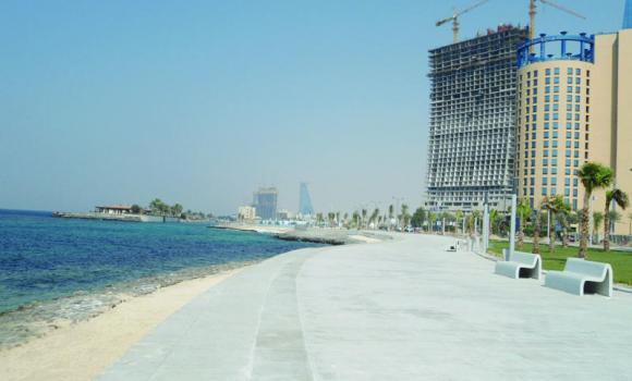 The municipality has deployed more than 200 workers to keep the Corniche clean round the clock during the summer holidays.