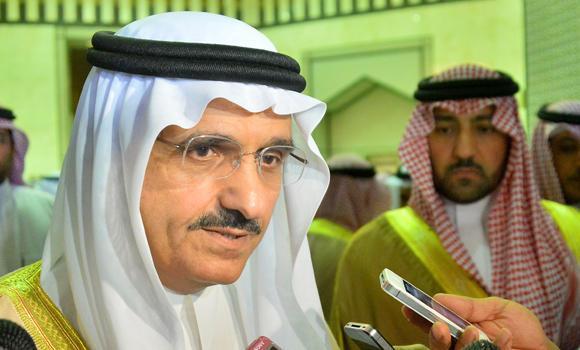 Prince Khaled bin Bandar. (SPA)