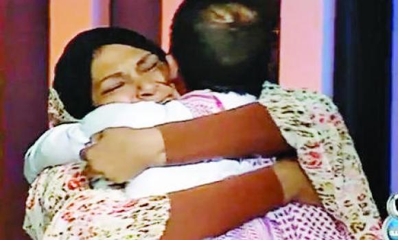 Abdullah Khojali and his mother are reunited after 30 years during the TV show.