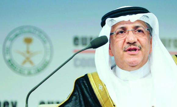 Governor and Chairman of the Board of Directors of Saudi Arabian General Investment Authority (SAGIA) Abdullatif A. Al-Othman speaks during the opening ceremony of the Euromoney Conference in Riyadh, in this May 7, 2013 file photo.