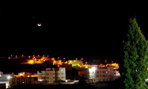 Saturn-and-Moon-in-Al-Baha