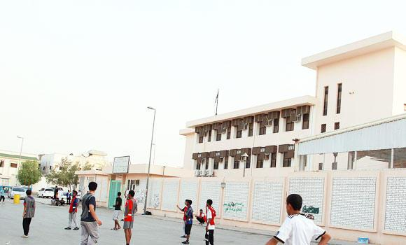 Saudi-school-and-students-play