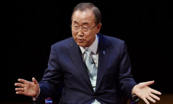 United Nations Secretary General Ban Ki-Moon.