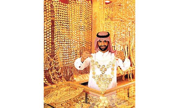 Gold sales in the region have risen by 79 percent.