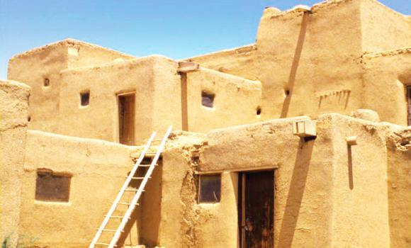 Mud houses reflect the history and culture of Saudi Arabia and its people.