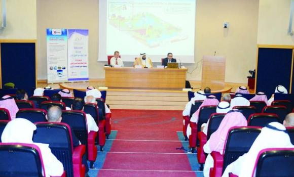 Experts discuss ways to combat MERS-CoV at a conference organized by the Saudi Ozone Company on Thursday.