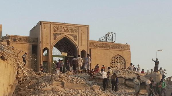 'Jonah's tomb' in Mosul