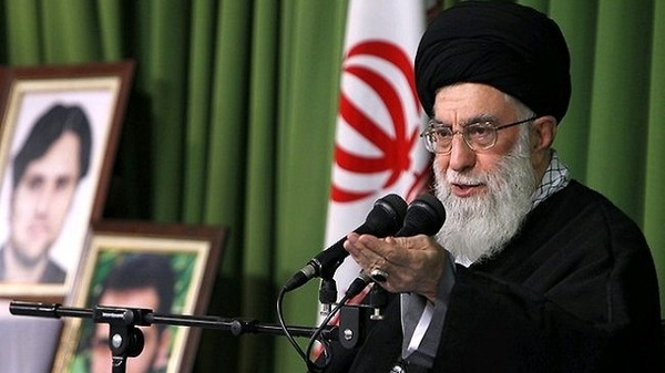 Khamenei also said that the great powers will eventually give in on Iran's nuclear ambitions.