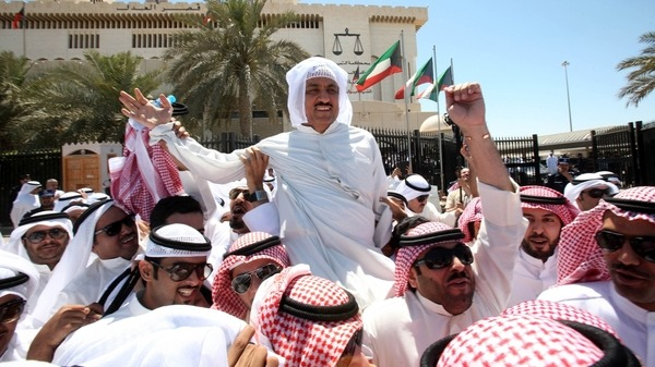 "Kuwait's opposition leader Mussallam al-Barrak condemned a government decision to ""revoke"" the citizenship of nationals deemed to pose a risk to national security."