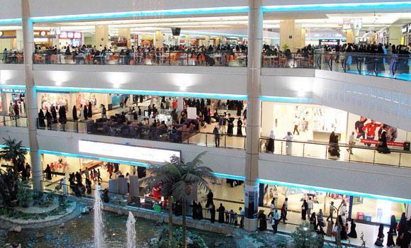 Saudi-women-in-a-shopping-mall