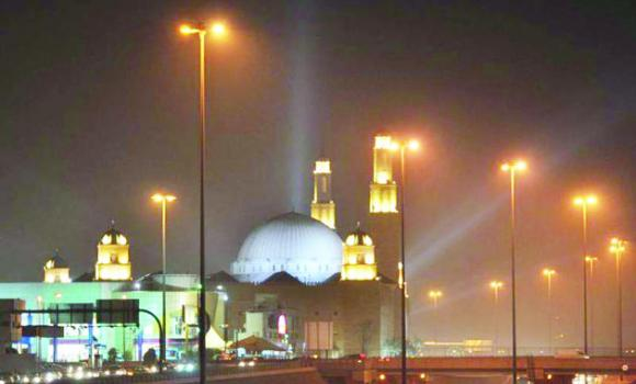 The Al-Rajhi Mosque at Exit 17 is one of the two big mosques in the capital, which have made arrangements for those opting for itikaf.