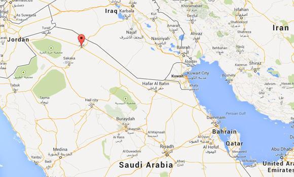 Saudi-Iraqi border