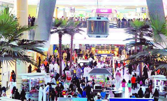 The retail sector provides lucrative job opportunities for unemployed Saudis.