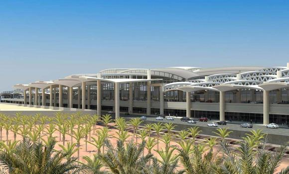 This file photo of an artist's rendition shows how the international airport in Riyadh would look like when expansion plans are done. Hopefully, glitches would be minimized with modernized facilities and equipment.