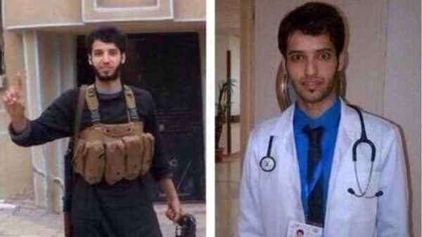 Faisal bin Shaman al-Aanzi left his job as a doctor in Saudi Arabia to join ISIS militants in Iraq and Syria.
