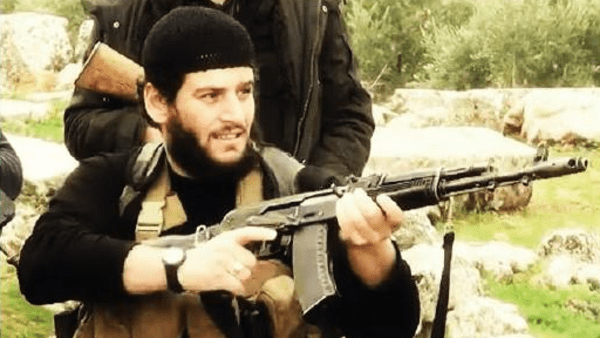 Along with ISIS spokesman Abu Muhammad al-Adnani's (pictured) U.S. designation, he will be added to the U.N. Sanctions list, requiring all member states to implement an assets freeze, a travel ban, and an arms embargo against him.