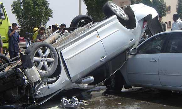 Accident in Qassim